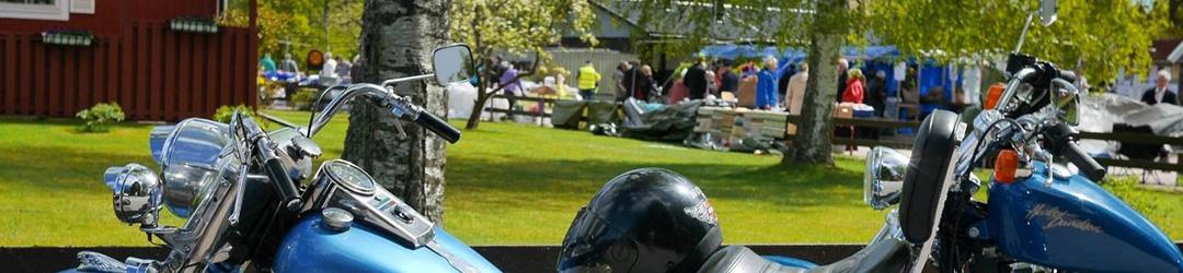 Örsjö marknad -motorcykel