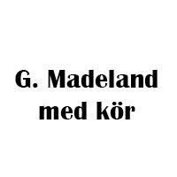 Göran Madeland & medlemmar ur Cantabile