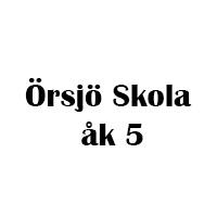 Örsjö skola åk 5